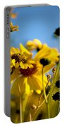 Desert Sunflower Variations Portable Battery Charger