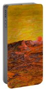Desert Sunset Portable Battery Charger