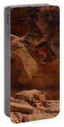 Desert Varnish Petroglyphs Valley Of Fire Portable Battery Charger