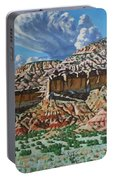 Ghost Ranch New Mexico Portable Battery Charger