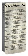 Desiderata - Paper Portable Battery Charger