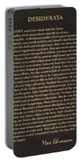 Desiderata Signature Collection Portable Battery Charger