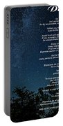 Desiderata - The Milky Way  Portable Battery Charger