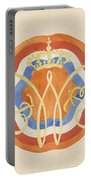 Design For A Plate With A Crowned W, Carel Adolph Lion Cachet, 1874 - 1945 Portable Battery Charger