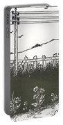 Design For End Paper Of Pierrot Portable Battery Charger