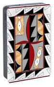 Southwest Collection - Design One In Red Portable Battery Charger