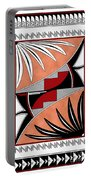 Southwest Collection - Design Three In Red Portable Battery Charger