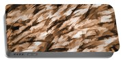 Designer Camo In Beige Portable Battery Charger