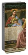 Detail From The Last Supper Portable Battery Charger by Domenico Ghirlandaio