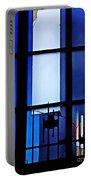 Detail Of Modern Johannes Schreiter Window Mainz 2 Portable Battery Charger