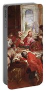 Detail Of The Last Supper Portable Battery Charger