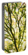 Detailed Tree Branches 1 Portable Battery Charger