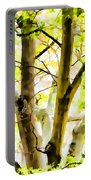 Detailed Tree Branches 2 Portable Battery Charger