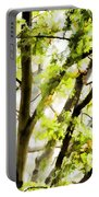 Detailed Tree Branches 3 Portable Battery Charger