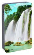 Detian Waterfall Portable Battery Charger