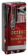Detroit Fire Department Portable Battery Charger