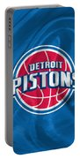 Detroit Pistons Portable Battery Charger