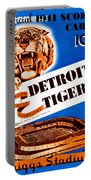 Detroit Tigers 1941 Scorecard Portable Battery Charger