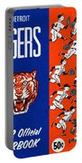Detroit Tigers 1962 Yearbook Portable Battery Charger