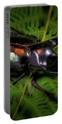 Devil Horned Rhino Beetle Portable Battery Charger