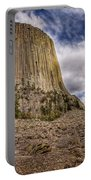 Devil's Tower Summer Afternoon Portable Battery Charger
