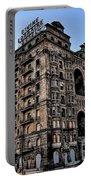 Divine Lorraine Hotel - Broad Street Philadelphia Portable Battery Charger
