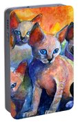 Devon Rex Kitten Cats Portable Battery Charger