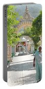 Devotees In Rishikesh India Portable Battery Charger