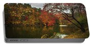 Dewey Lake In Autumn Portable Battery Charger
