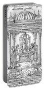 Dhanvantari, God Of Ayurvedic Medicine Portable Battery Charger