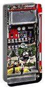 Dials And Hoses On Fire Truck Portable Battery Charger