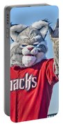 Diamondbacks Mascot Baxter Portable Battery Charger