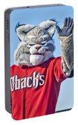 Diamondbacks Mascot Baxter Portable Battery Charger