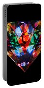 Diamonds Everywhere Portable Battery Charger