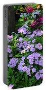 Dianthus Flower Bed Portable Battery Charger