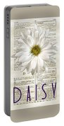 Dictionary Daisy Portable Battery Charger