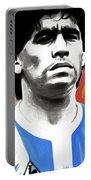 Diego Maradona By Nixo Portable Battery Charger