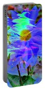 Digital Brush Abstract Portable Battery Charger