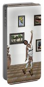 Digital Exhibition _ Dancing Girl  Portable Battery Charger