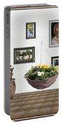 digital exhibition _ Flower basket 22 Portable Battery Charger