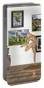 Digital Exhibition _ Statue Of  Erotic Acrobatics  2 Portable Battery Charger