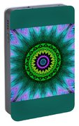 Digital Kaleidoscope Mandala 50 Portable Battery Charger