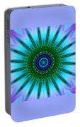 Digital Kaleidoscope Mandala 51 Portable Battery Charger