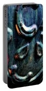 Digital Painting Abstract Blue 2364 Dp_2 Portable Battery Charger