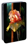 Digital Painting Iris Catching The Sun 6768 Dp_2 Portable Battery Charger
