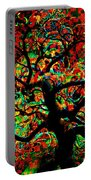 Digital Tree Impressionism Pixela Portable Battery Charger