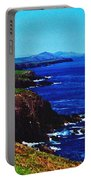 Dingle Coastline Near Fahan Ireland Portable Battery Charger