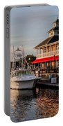 Dining At The Marina Portable Battery Charger