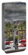 Dining With A View Portable Battery Charger