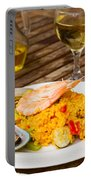 Dining With Paella Portable Battery Charger
